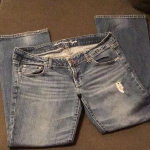 American Eagle distressed Favorite Boyfriend Jeans